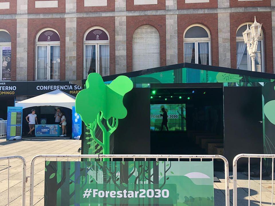 Gracias a la participación del gobierno, el programa se llama #Forestar2030 ha empezado en Argentina.